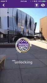 NBA's Sacramento Kings Unveil New Uniforms via Augmented Reality