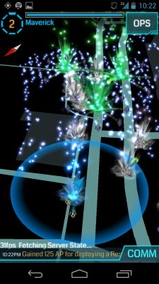 Ingress, Google's Awesome New Mind-Hacking AR Game for Android Phones Now in Beta!