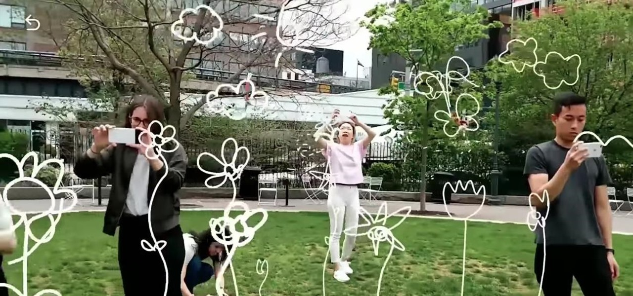 Here's How Shared AR Experiences will work via Google's Cloud Anchors
