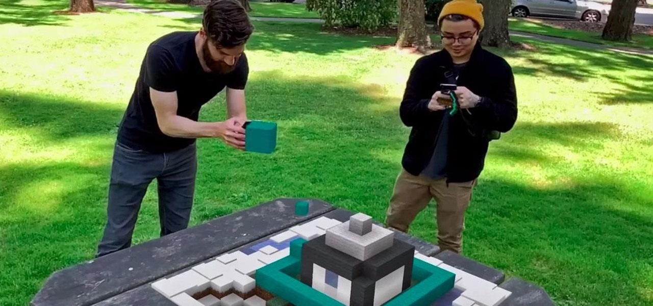 Microsoft Launches Closed Beta Sign-Ups for Minecraft Earth Mobile Augmented Reality Game