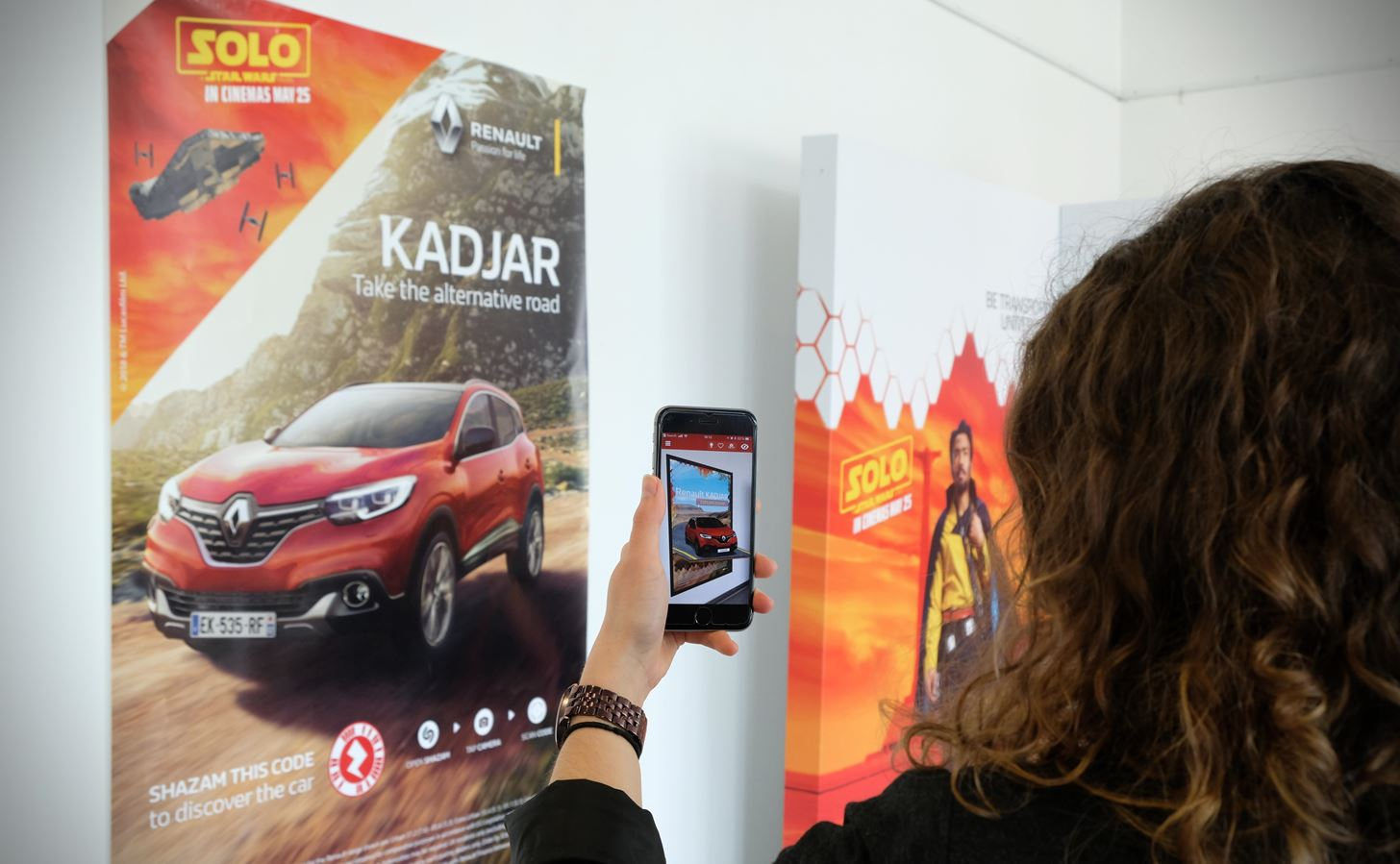 Renault Uses Shazam AR to Harness the Latest Star Wars Movie Hype