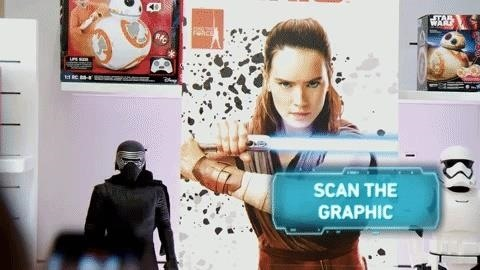 The Force Is Strong with Star Wars AR Treasure Hunt