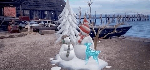 Here's How Anyone Can Create an AR Snow Globe Scene Using Adobe Aero and Some Holiday Imagination