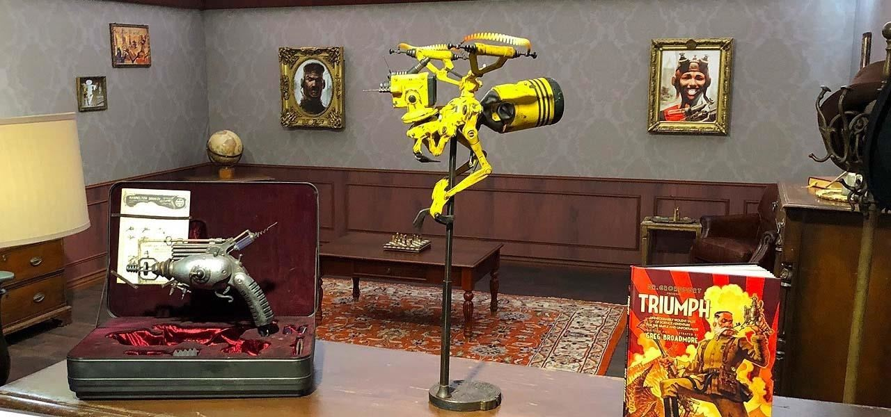 Magic Leap & Weta Workshop Release Dr. Grordbort's Invaders for Magic Leap One