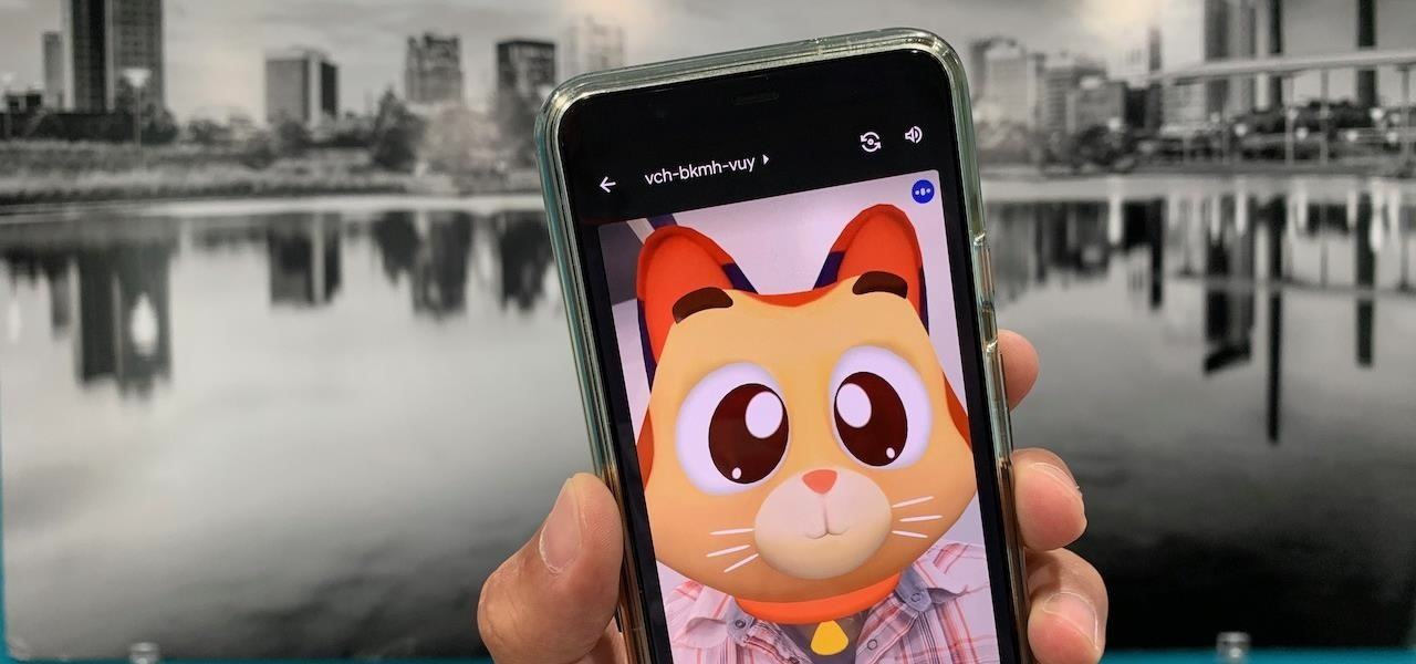 Google Launches Augmented Reality Filters on Meet App for Mobile