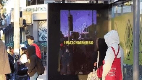 HBO & # 39; Watchmen & # 39; Promo Drops Dead Augard on LA & New York via Augmented Reality Ad