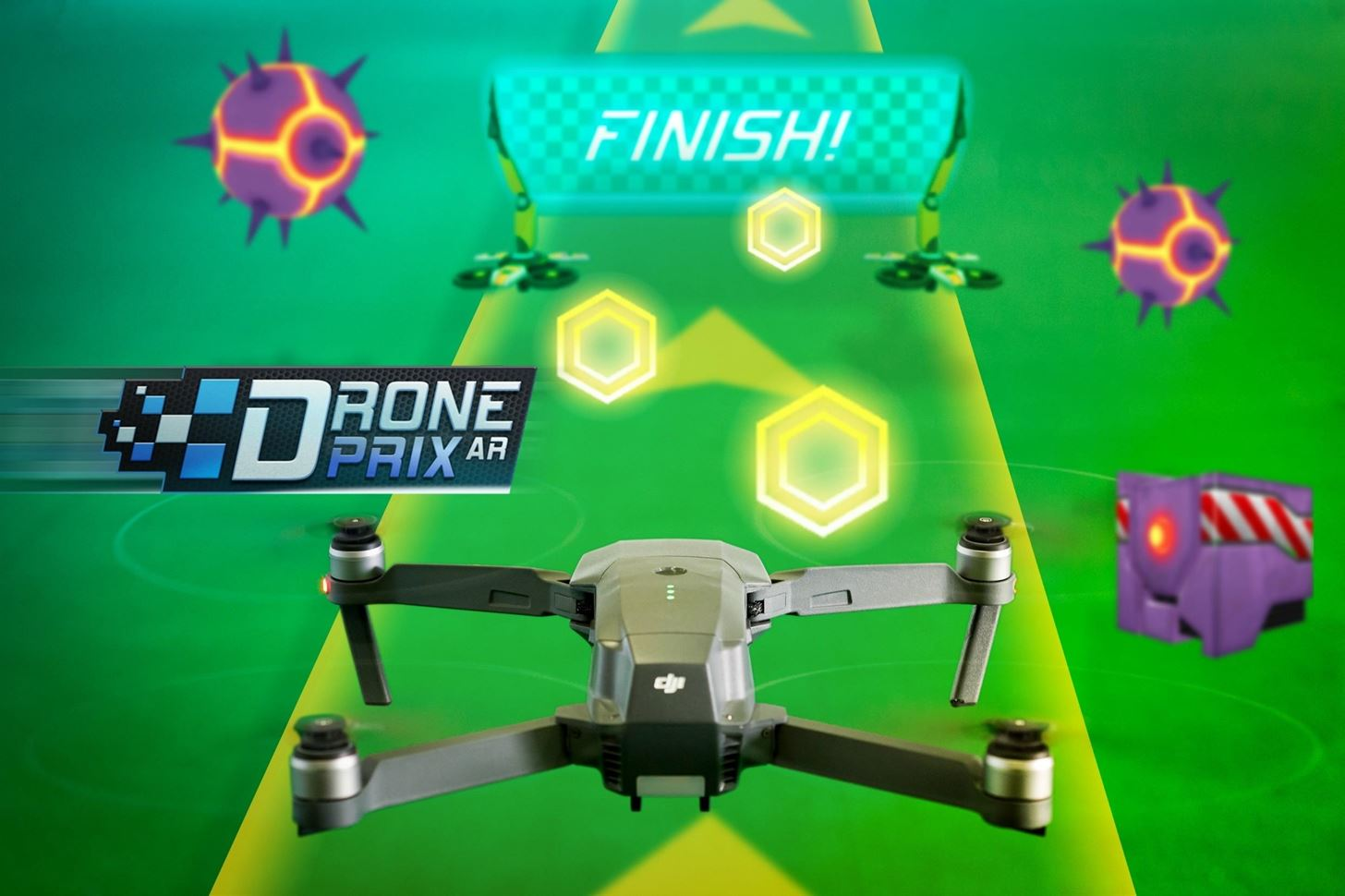 Drone Prix Finishes as First AR Game for DJI Drones