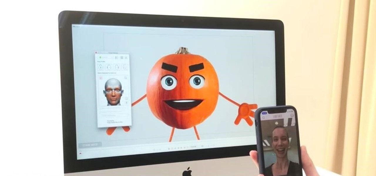 Motion Capture via iPhone X Is Available to Animators Now Through