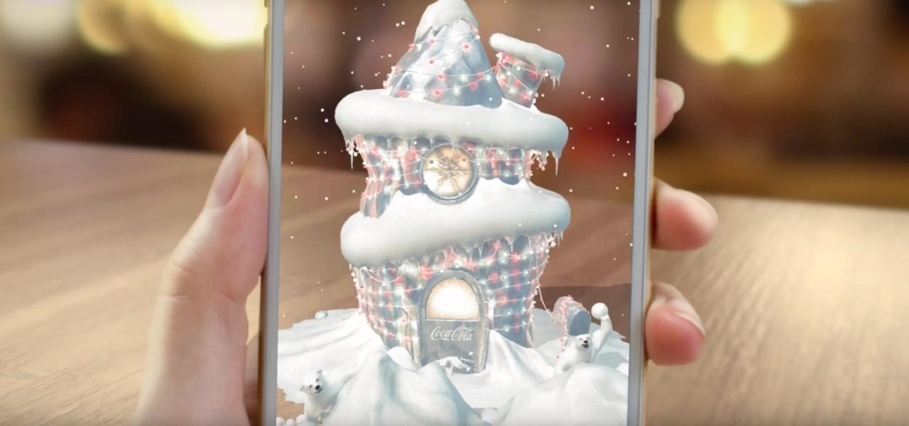 Coca-Cola Opens a Can of Augmented Reality to Get Consumers into the Holiday Spirit