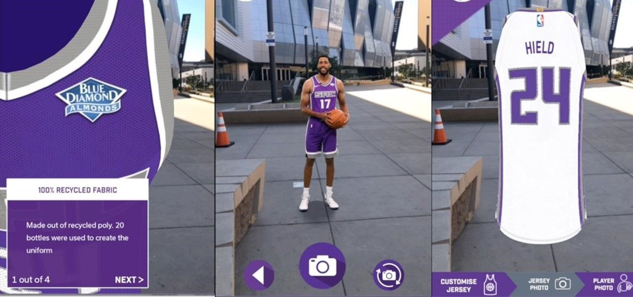 News: NBA's Sacramento Kings Unveil New Uniforms via Augmented Reality