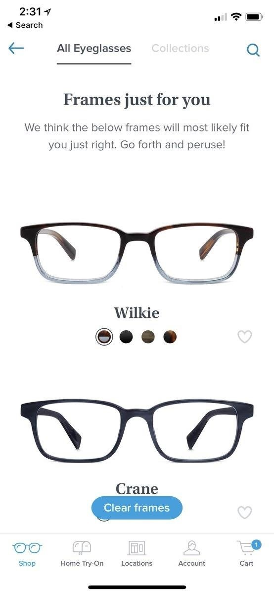 Apple AR: Warby Parker Uses Face ID in iPhone X to Measure Your Face for Glasses