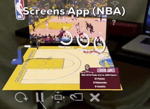 Hands-On: Magic Leaps Screens app is the best of a killer app for the Magic Leap One, now