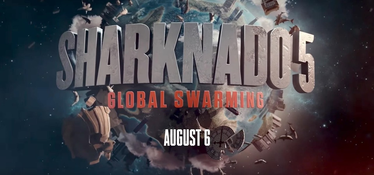 Defeat the Dreaded 'Sharknado' in the Franchise's New Mobile AR Game