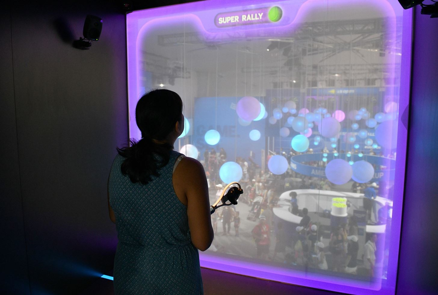 Venus Williams Joins Her Sister in AR via American Express Installation at the US Open