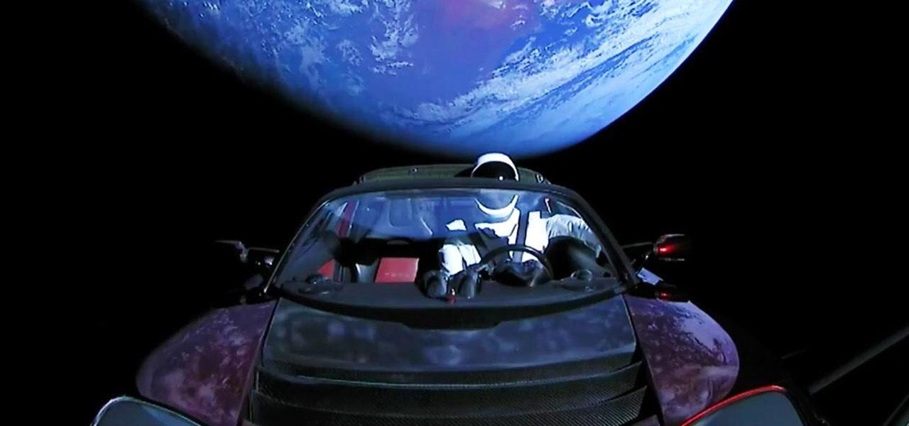 Elon Musk's Tesla-Riding Starman Comes to Snapchat via Custom Lens