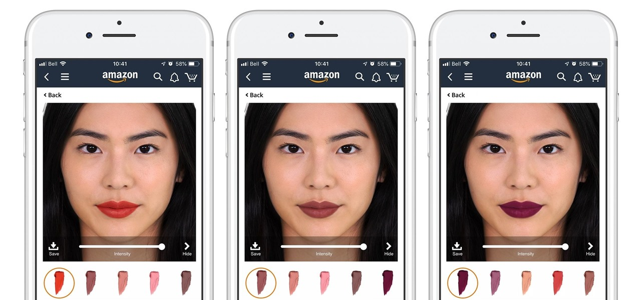Amazon Adding Virtual Try-On from L'Oréal's ModiFace to Its Beauty Products