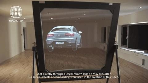 Realfiction's New Mixed Reality Display Projects Large Scale Holograms Without a Headset