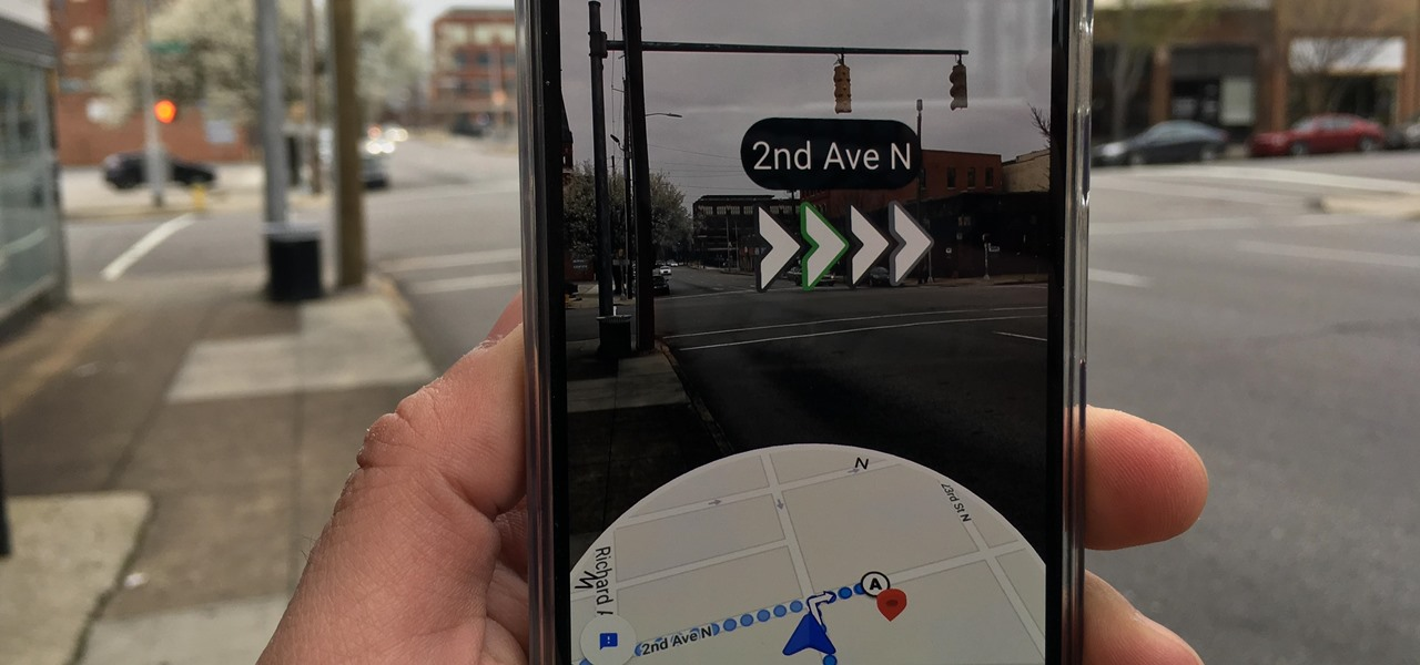 Hands-On with Google Maps Walking AR Navigation Experiment, a Peek into Our Smartglasses Future
