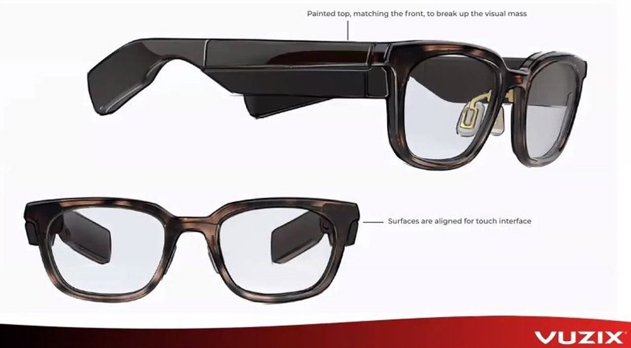Vuzix Confirms New, Smaller Smartglasses Model with Fashion-Friendly Design