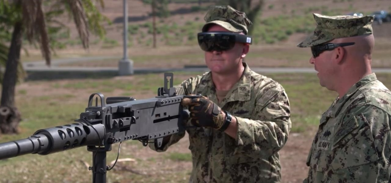 US Navy Taps Microsoft's HoloLens for Augmented Reality War Games System