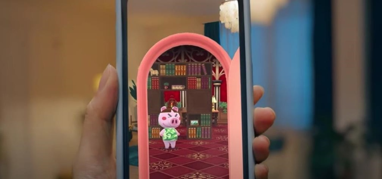Nintendo Crafts AR Content for Animal Crossing: Pocket Camp
