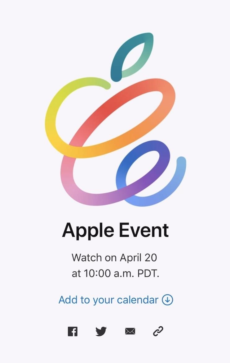 Apple Hides Augmented Reality Surprise in Invite for Next Big Event