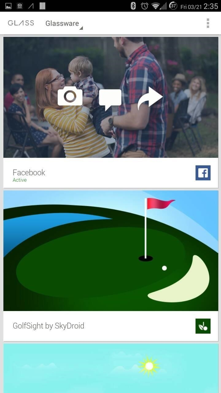 How to Share Photos & Videos from Your Google Glass to Facebook & Twitter