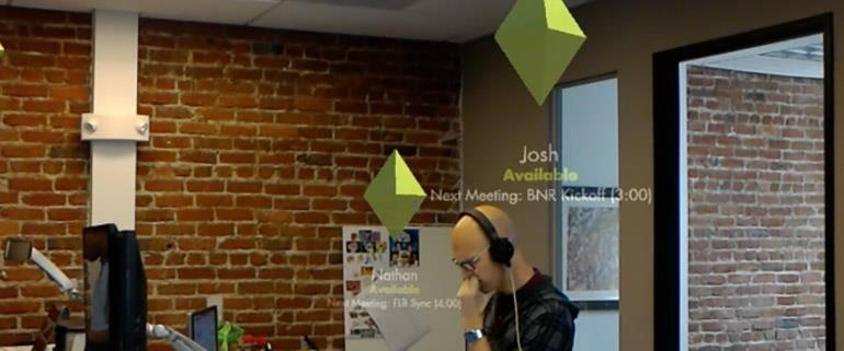 Stimulant's HoloLens App Helps Navigate Inside Buildings