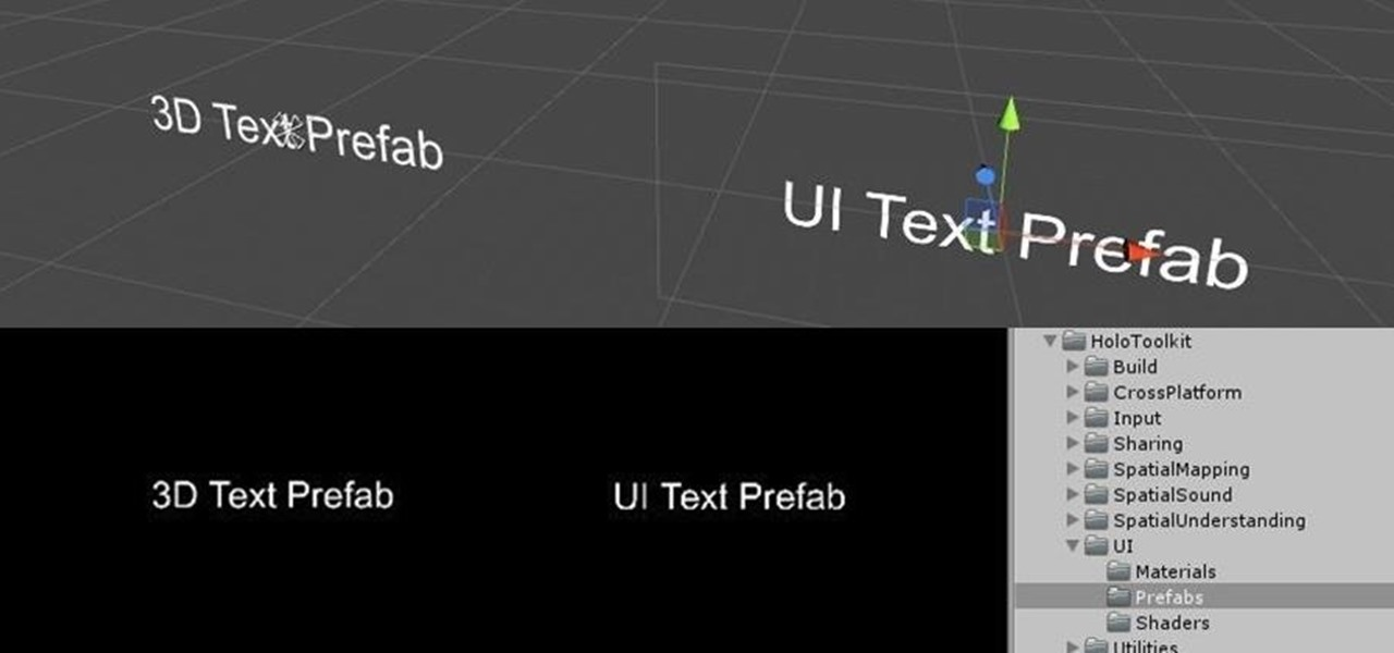 Make Words You Can See in Unity with Typography Prefabs