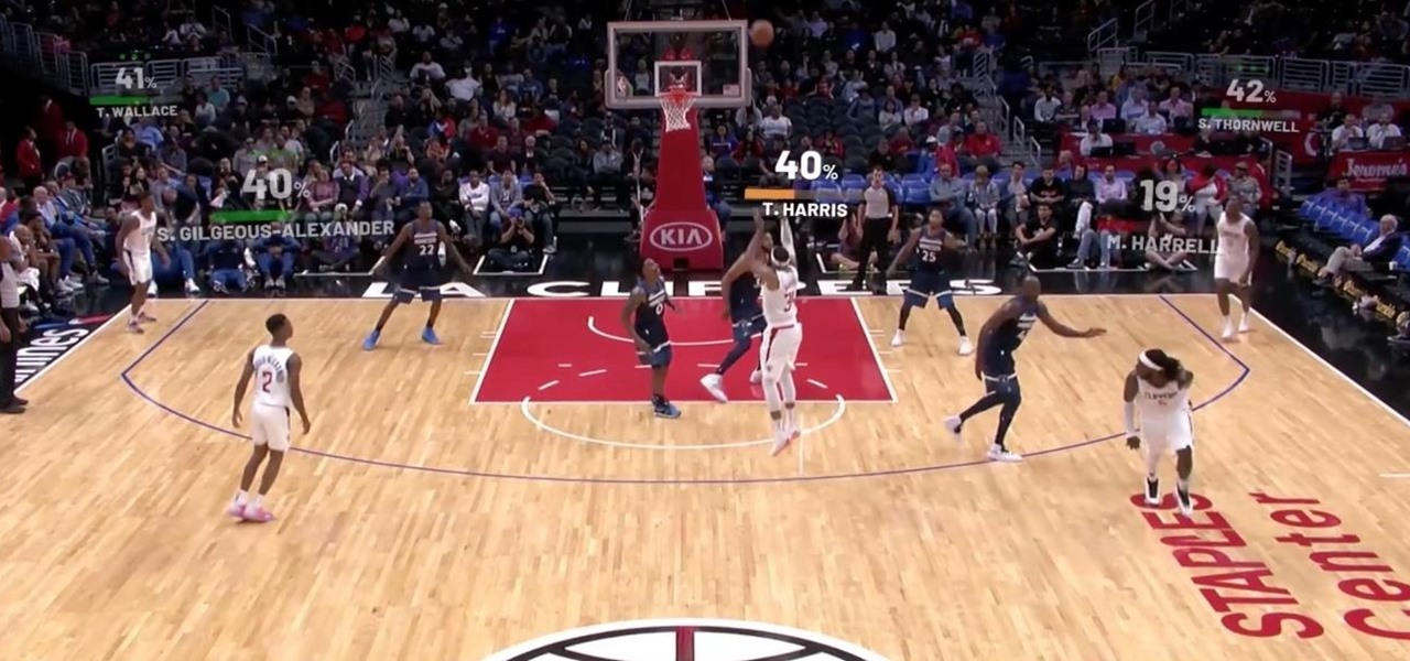 ESPN, Fox Sports, & NBA's Clippers & Mavericks Draw Up Augmented Reality Plays to Win Over Fans