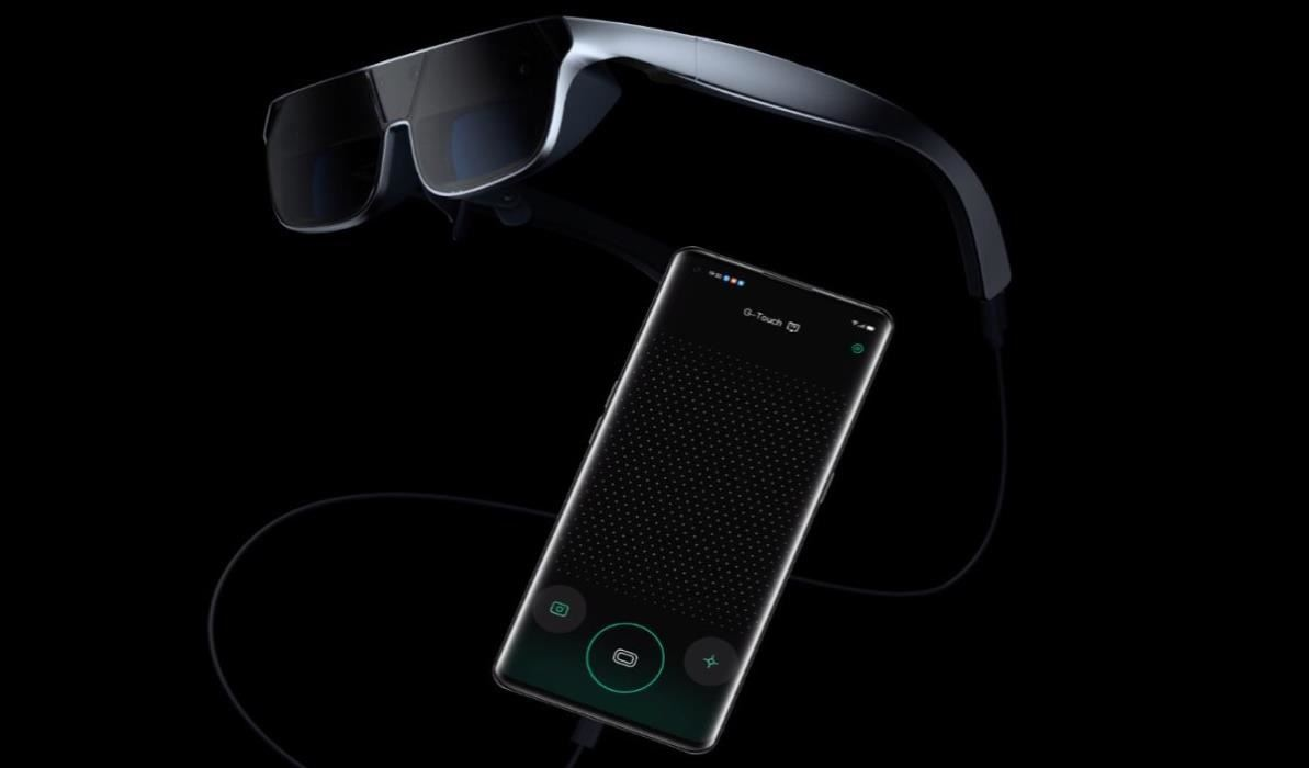 China Wireless Giant Oppo Debuts Mainstream-Friendly Smartphone-Tethered AR Smartglasses & Cloud App