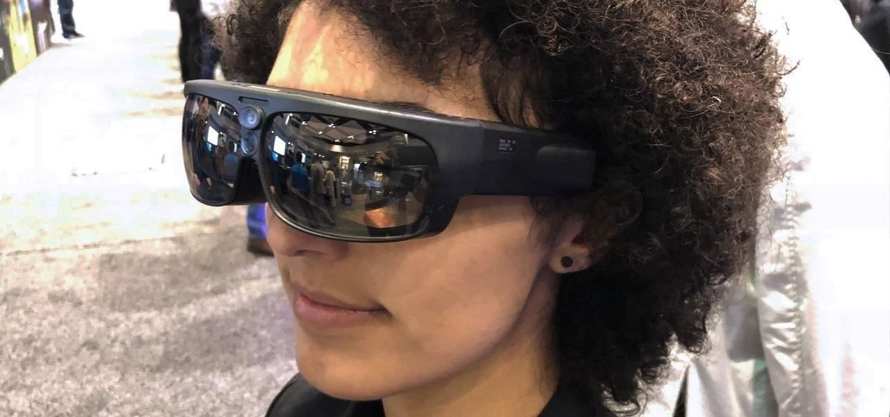 ODG Video Shows Off Hands-Free ReticleOS Media Player for R-9 Smartglasses