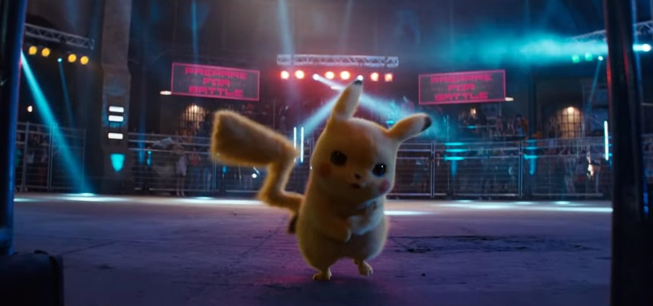 Pikachu Celebrates New Movie by Photobombing the AR Camera in Pokémon GO