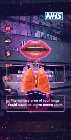 Snapchat's Body Tracking AR Tech Lends Hand for Organ Donation Education