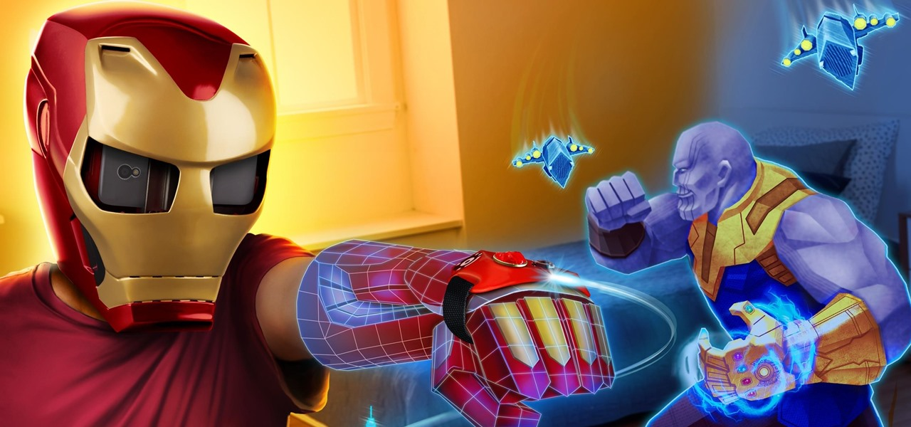 Hasbro Makes Marvel Movie Magic Real with Iron Man AR Helmet
