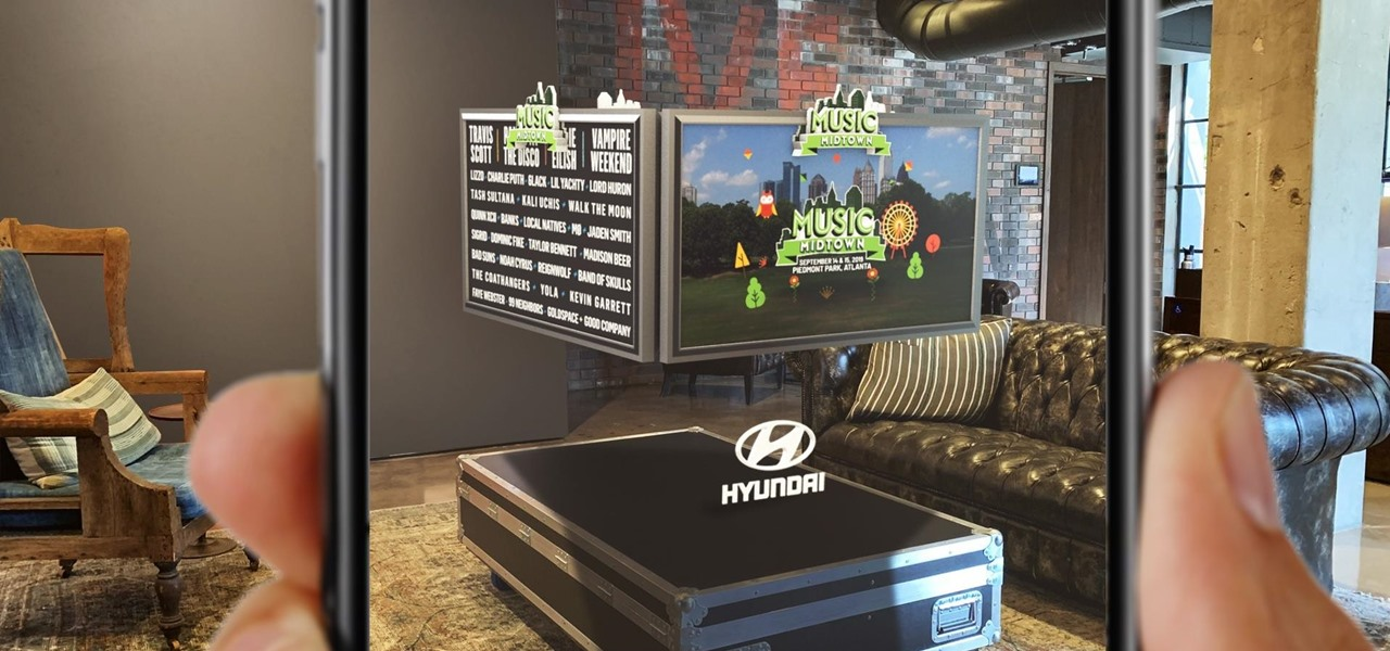 Live Nation & Hyundai Roll Out Augmented Reality Experiences for Concert Goers at Music Midtown Festival