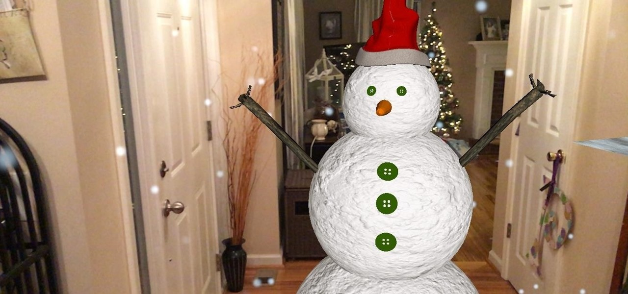 With These Holiday Apps, You Can Build Snowmen, Beat Up Elves, or Spin Driedels in AR