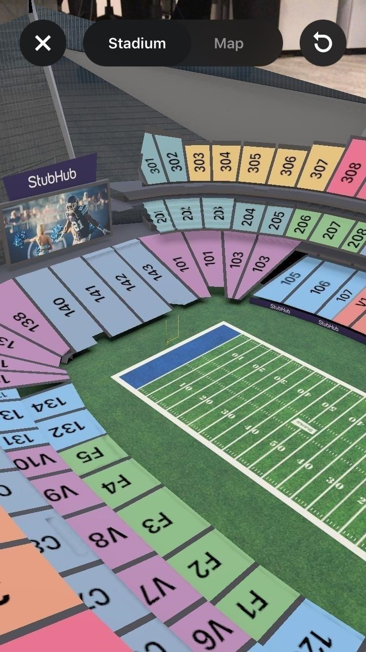 StubHub Punches Augmented Reality's Ticket to Help Fans Navigate Super Bowl LII