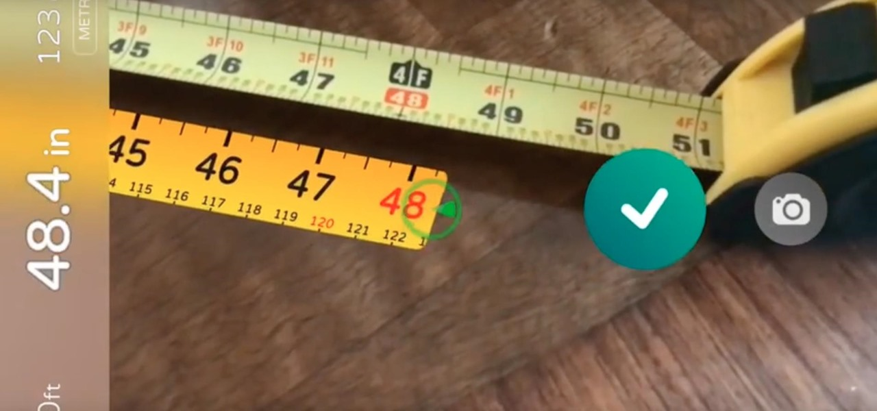 Thanks to Augmented Reality, You Can Measure Almost Anything with Your iPhone