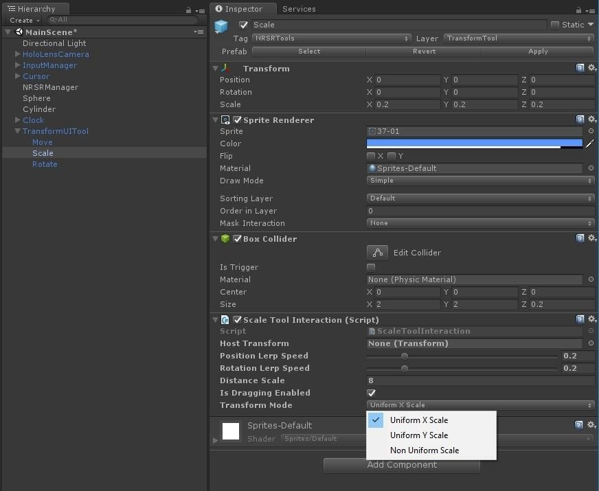 HoloLens Dev 101: Building a Dynamic User Interface for the HoloLens, Part 10 (Scaling Objects)