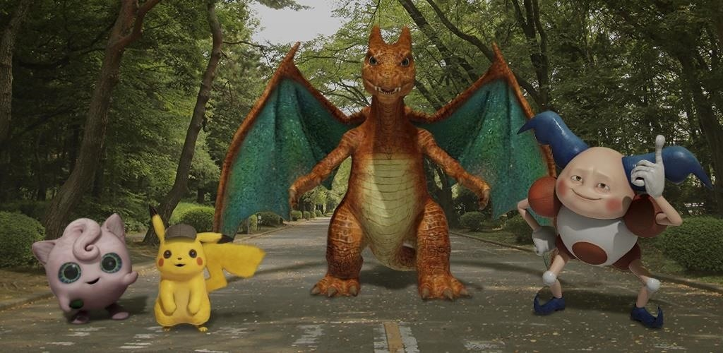 'Detective Pikachu' Pokémon Pop Up in Augmented Reality via Google's Playground App for Pixel Devices