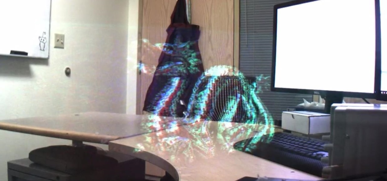 Microsoft Demonstrates Holograms with Phase-Only Displays
