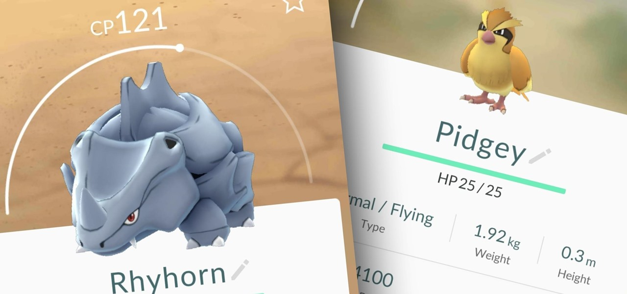 Improve Your Pokémon's Stats in Pokémon GO