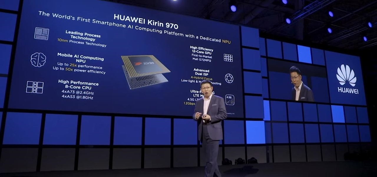 Huawei Flexes Their AR Muscles with AI-Infused Kirin 970