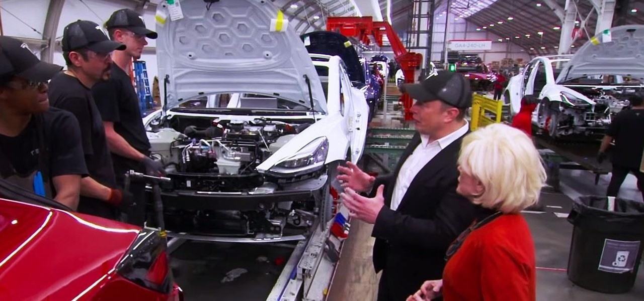 Tesla Files Patent for AR Manufacturing Tool, Elon Musk Talks Factory Innovation, Weed, & SEC Fine on '60 Minutes'