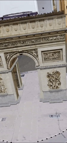 Google Adds Famous Monuments & Iconic Buildings to Augmented Reality Search Feature