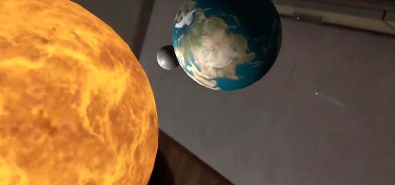 Get Up Close to Our Solar System Using AR
