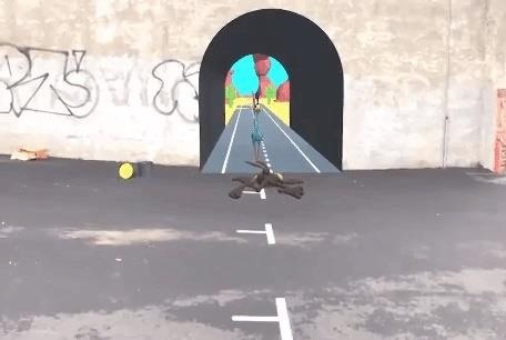 Looney Tunes Antics Jump from Screen to Real World with Augmented Reality Experiment