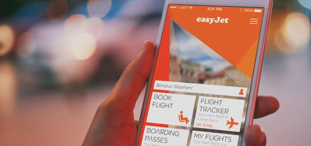 Budget Airline easyJet Packs Augmented Reality Luggage Checking