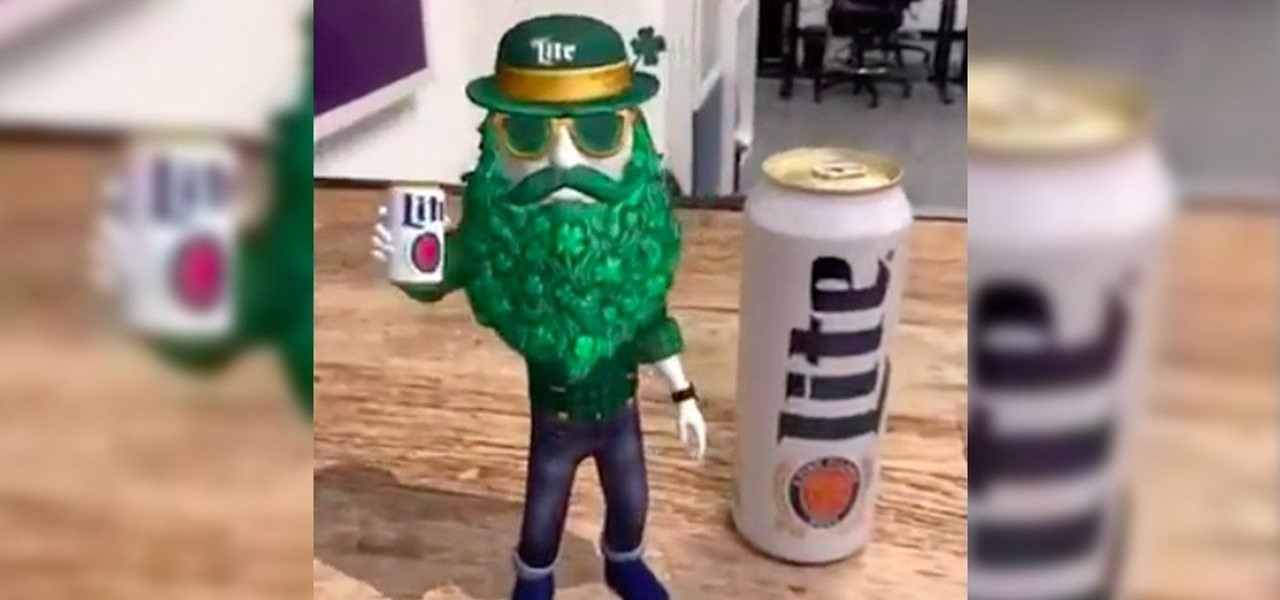 News: Miller Lite & Trigger Global Turn St. Patrick's Day into an Augmented Reality Celebration